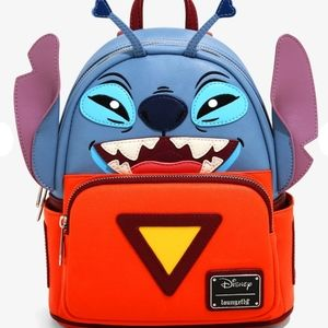 NWT Loungefly Stitch in spacesuit mini backpack